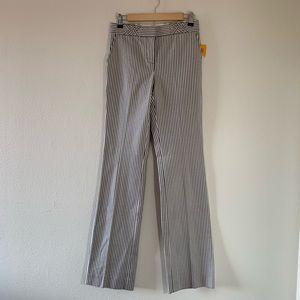 NWT Tory Burch Stripe Trousers Work Pants